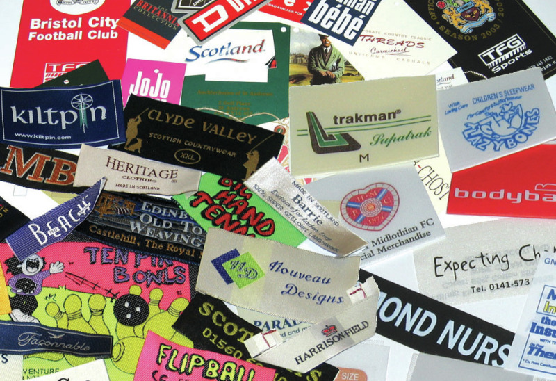 Textile, Woven, Fabric Labels